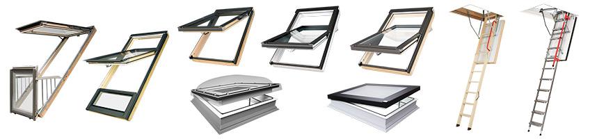 FAKRO oferuje swoim klientom szeroką gamę okien dachowych