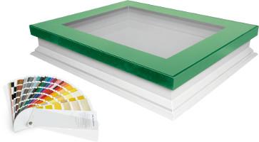 Okna do dachów płaskich typu F