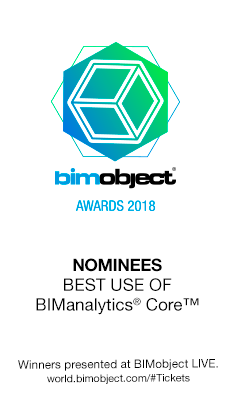 FAKRO nominowane do nagrody BIMobject Awards 2018 w kategorii \