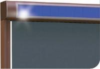 Dostępne kolory i materiały markiz do okien pionowych - FAKRO