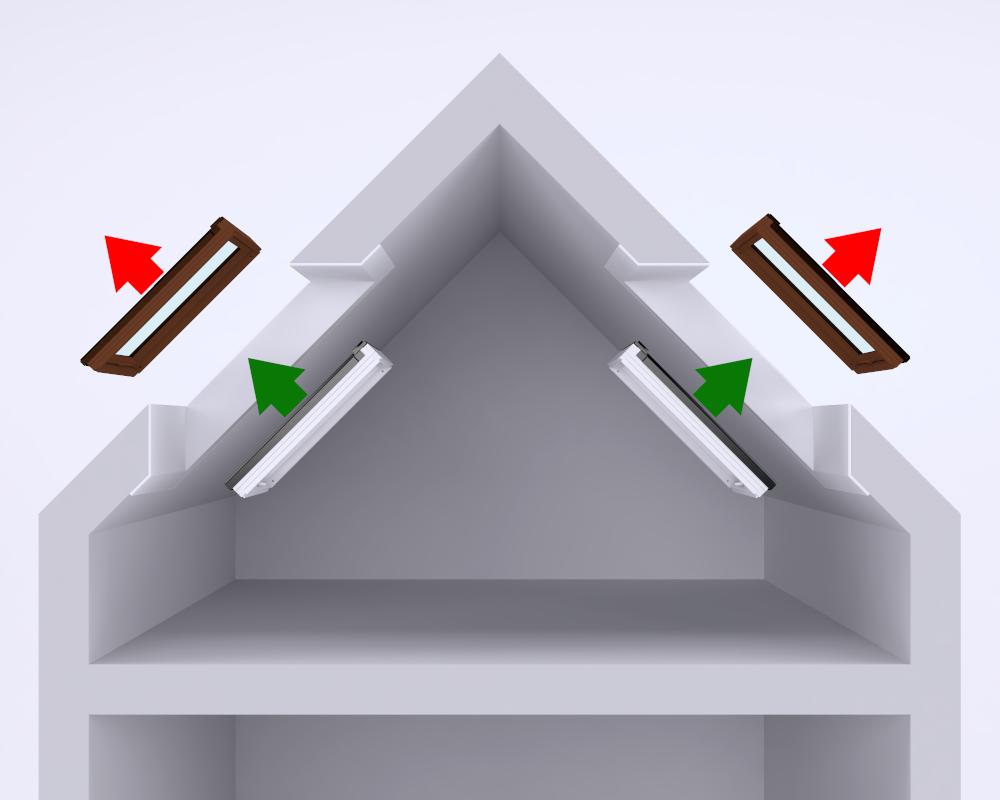 Wymiana okien dachowych bez naruszenia szpalet