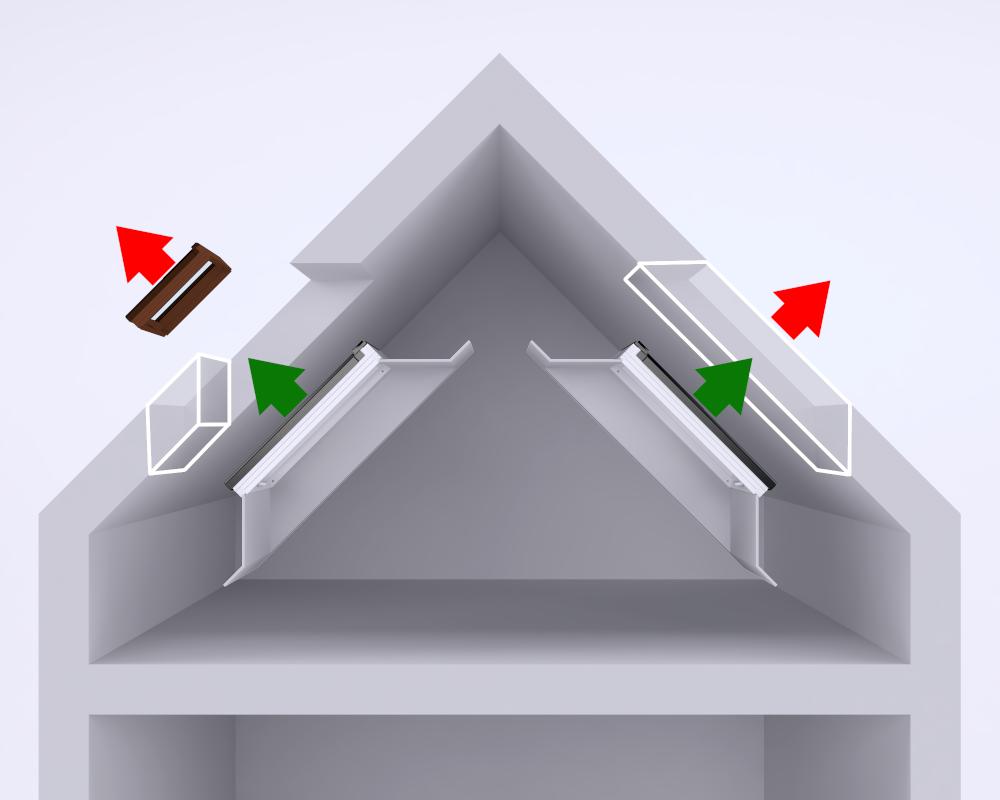 Kompleksowa termomodernizacja poddasza wraz z montażem okien dachowych