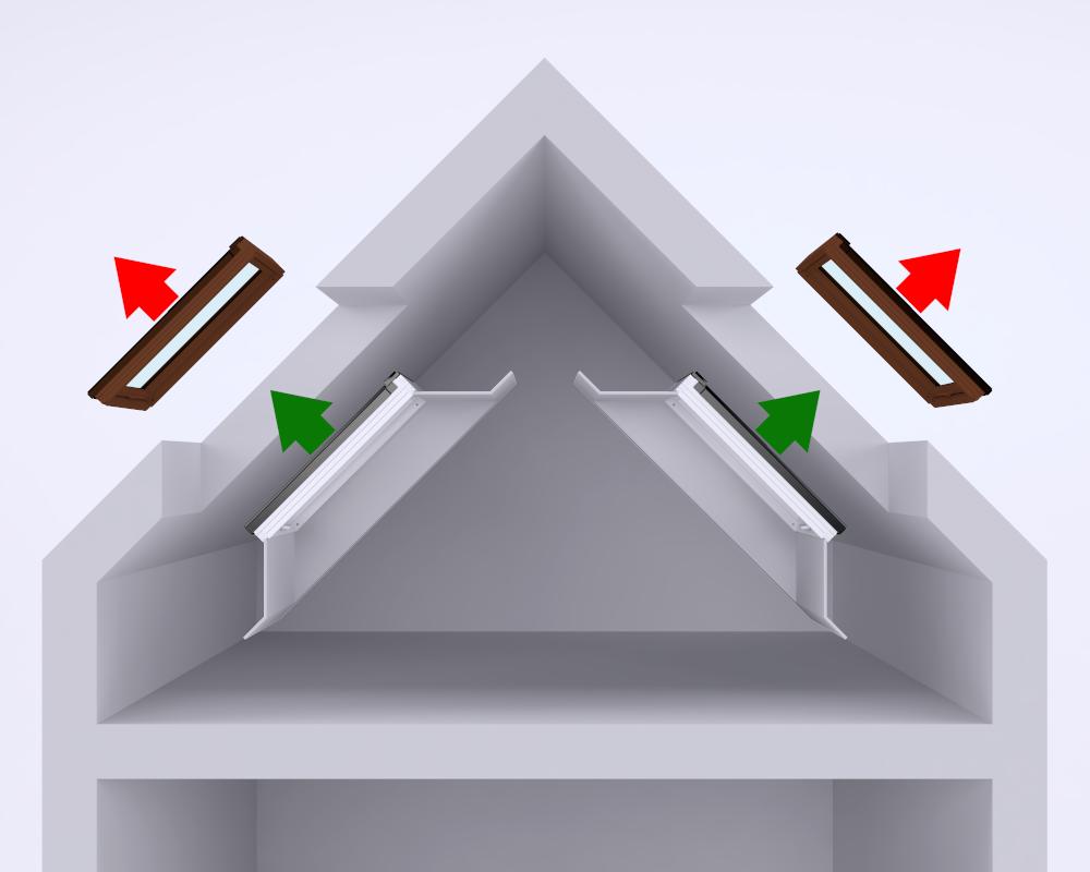 Wymiana okien dachowych wraz z zastosowaniem nowych szpalet