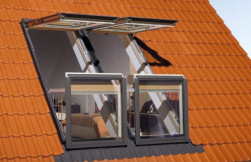 Okno dachowe balkonowe galeria fakro for Fenetre de toit balcon